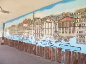 Mural on the broadwalk
